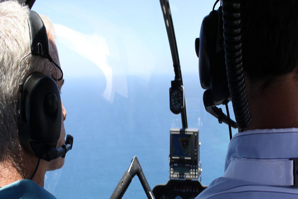 Paseo en helicóptero por la costa sur de Tenerife